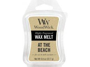 Vonný vosk | WoodWick | Na pláži | 6 x 22.7 g