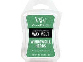 Vonný vosk | WoodWick | Bylinková zahrádka | 6 x 22.7 g