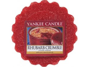 Vonný vosk | Yankee Candle | Rebarborový crumble | 22 g