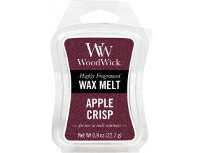 Vonný vosk WoodWick Křupavé jablko, 6 x 22.7 g