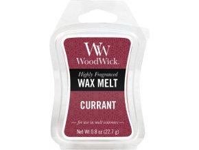 Vonný vosk | WoodWick | Rybíz | 6 x 23g