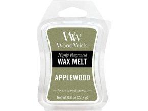 Vonný vosk | WoodWick | Jabloňové dřevo | 6 x 23g