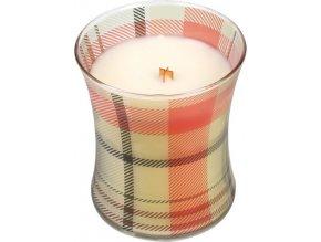 Svíčka | oválná váza|  WoodWick | perník | 275g