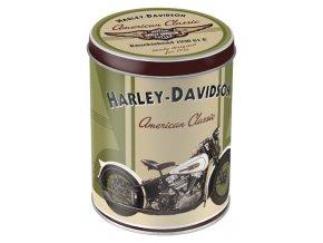 Dóza Harley Davidson Knucklehead 10x13cm