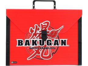 Kufřík Bakugan červený, plastový