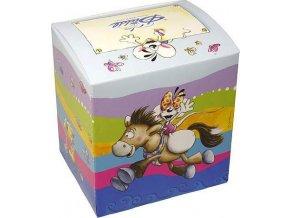 Krabička na hrnek | Diddl & Friends | na koni