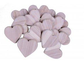 Dřevěné srdce 12,5x12,5x2cm