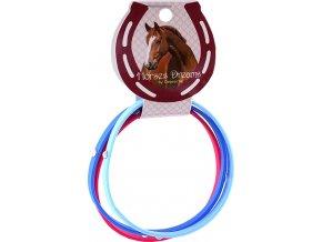 Náramky | Horses Dreams | tmavě modrá, růžová, modrá