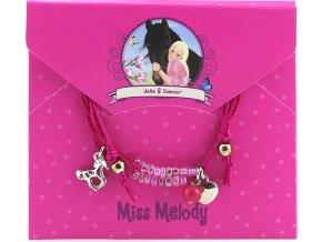 Náramek s přívěsky | Miss Melody | holčičí i klučičí verze