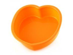 Pečící forma   Smart Cook   silikonová   srdce   více barev