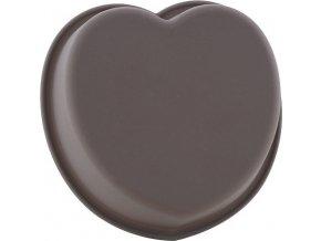 Pečící forma Smart Cook silikonová šedá, srdce