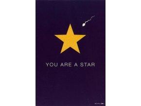 Blahopřání Born 2B YOU ARE A STAR