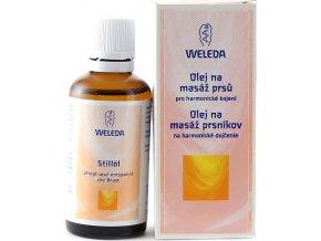 Olej na masáž prsů Weleda pro harmonické kojení, 50 ml