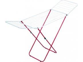 Sušák na prádlo Leifheit délka 180 cm, červený