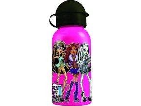 Pitná láhev Mattel Monster High, růžová, 400 ml