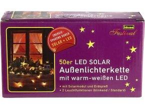 Světelný řetěz | Idena | LED | teplá bílá | délka 5m