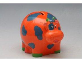 keramicka pokladnicka krava