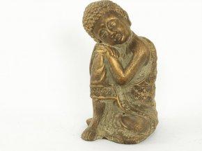 Socha Buddha   keramická   13x12x20cm