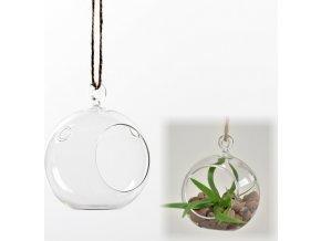 Skleněná koule 8 cm aerárium