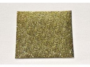 skleneny tac 24 5 x 24 5 cm zlaty mrazeny
