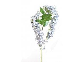 umela kvetina ostrozka modro seda