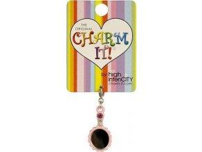 Přívěšek Charm it | zrcátko | 50x42x2mm