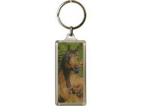 Klíčenka | 3D | Horses Dreams | hnědý kůň
