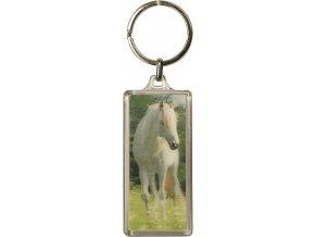 Klíčenka | 3D | Horses Dreams | bílý kůň