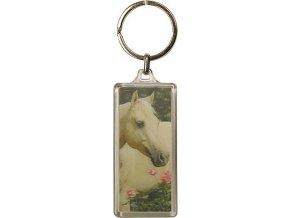Klíčenka | 3D | Horses Dreams | kůň a růže