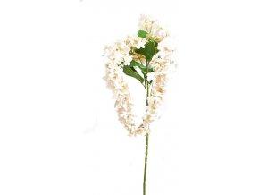 Umělá květina ostrožka, meruňková tmavá