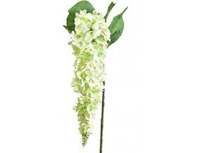 Umělá květina ostrožka, zelená