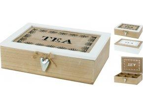 Krabička na čaj TEA