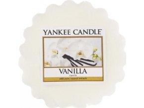 Vonný vosk Yankee Candle Vanilka, 22 g