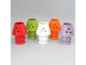 lampicka keramika 13cm mix barev
