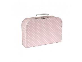 Dětský kufřík | hvězdy | 30x21x10cm | růžová