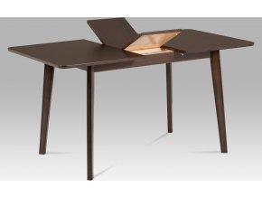 Jídelní stůl rozkládací 120+30x80, barva ořech