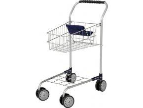 Nákupní vozík Bayer-Design Hliníkový vzhled