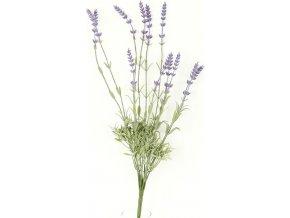Umělá květina - levandule