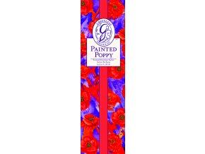 Tester vonného sáčku Painted Poppy úzkého