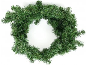 Zelená girlanda, umělá dekorace
