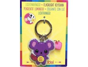 Přívěsek na klíče Top Model ASST Koala, svítící