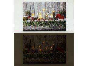 Nástěnný obraz, svíticí - LED.