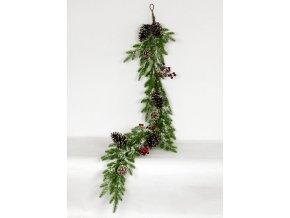Girlanda,umělá vánoční dekorace
