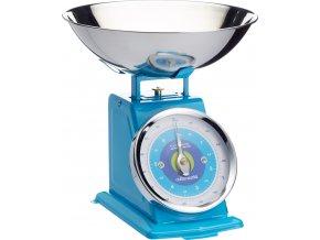 Kuchyňská váha modrá