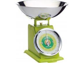 Kuchyňská váha zelená