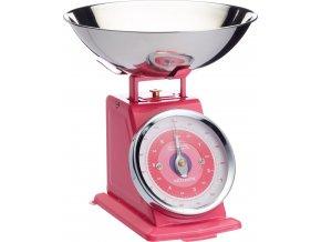 Kuchyňská váha růžová