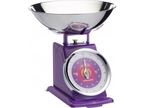 Kuchyňská váha fialová