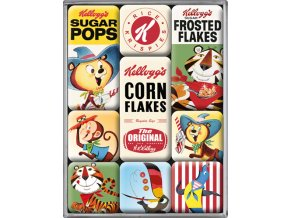 Magnetky na ledničku Kellogg's Corn Flakes