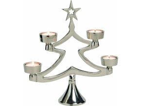 Vánoční adventní svícen strom 29 cm