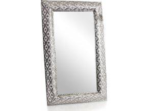 Kovové zrcadlo Arabica 74x44,5 cm
